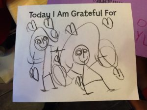 Today I Am Grateful For New Friends  –Alyssa, age 4